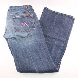 NWOT 7 for all Mankind A-Pocket Bootcut Jeans 29